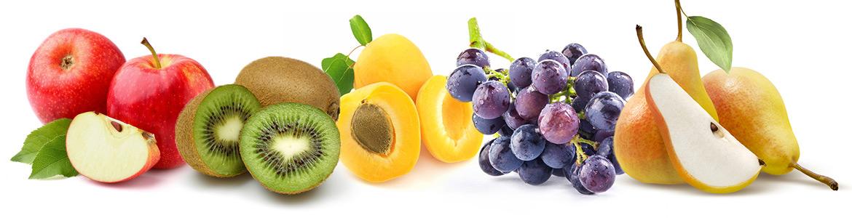 Obst und Obstmischungen
