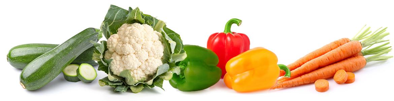 Gemüse und Gemüsemischungen